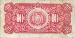 10 Bolivianos BOLIVIE  1928 P.121a TTB+