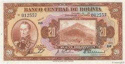 20 Bolivianos BOLIVIE  1928 P.122a NEUF