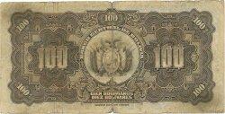 100 Bolivianos BOLIVIE  1928 P.125a B