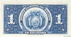 1 Boliviano BOLIVIE  1928 P.119a NEUF