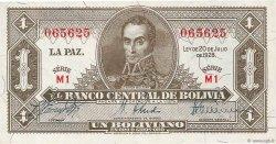 1 Boliviano BOLIVIE  1928 P.128a NEUF
