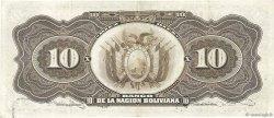 10 Bolivianos BOLIVIE  1929 P.107a SUP