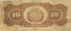 10 Bolivianos BOLIVIE  1929 P.114a B
