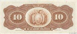 10 Bolivianos BOLIVIE  1929 P.114a SPL
