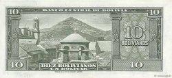 10 Bolivianos BOLIVIE  1945 P.139b pr.SPL