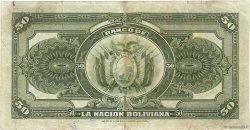 50 Bolivianos BOLIVIE  1911 P.110 pr.TTB