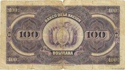 100 Bolivianos BOLIVIE  1929 P.117 B