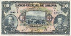 100 Bolivianos BOLIVIE  1928 P.125a SPL