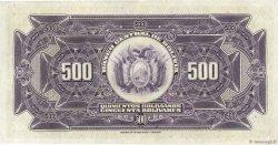 500 Bolivianos BOLIVIE  1928 P.126b SUP+