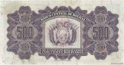 500 Bolivianos BOLIVIE  1928 P.134 SUP