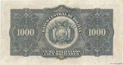 1000 Bolivianos BOLIVIE  1928 P.135 SUP