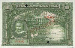 100 Angolares ANGOLA  1927 P.075s pr.NEUF