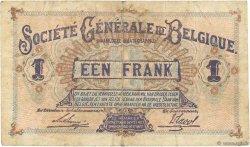 1 Franc BELGIQUE  1915 P.086a pr.TTB