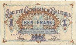 1 Franc BELGIQUE  1916 P.086b TTB