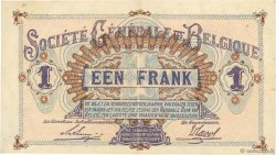 1 Franc BELGIQUE  1916 P.086b SUP