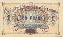 1 Franc BELGIQUE  1918 P.086b SPL