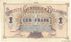 1 Franc BELGIQUE  1918 P.086b SUP