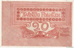 20 Francs BELGIQUE  1919 P.067 SUP+
