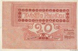 20 Francs BELGIQUE  1919 P.067 pr.TTB