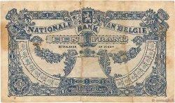 1 Franc BELGIQUE  1920 P.092 B