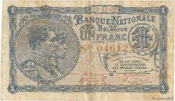 1 Franc BELGIQUE  1920 P.092 TB