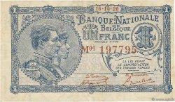 1 Franc BELGIQUE  1920 P.092 TTB
