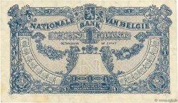 1 Franc BELGIQUE  1921 P.092 TTB