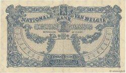 1 Franc BELGIQUE  1921 P.092 TTB+