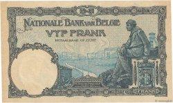5 Francs BELGIQUE  1922 P.093 SUP