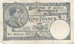 5 Francs BELGIQUE  1923 P.093 B