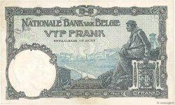 5 Francs BELGIQUE  1924 P.093 TTB