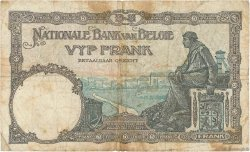 5 Francs BELGIQUE  1927 P.097b B