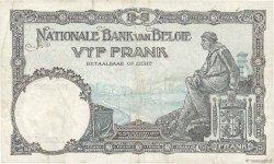 5 Francs BELGIQUE  1927 P.097b TTB