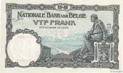 5 Francs BELGIQUE  1927 P.097b SUP