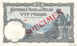 5 Francs BELGIQUE  1927 P.097bs SUP