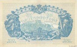 500 Francs - 100 Belgas BELGIQUE  1932 P.103a TTB+