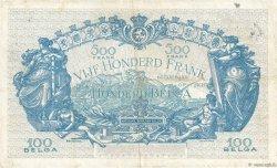 500 Francs - 100 Belgas BELGIQUE  1934 P.103a TB+