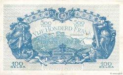 500 Francs - 100 Belgas BELGIQUE  1934 P.103a TTB+
