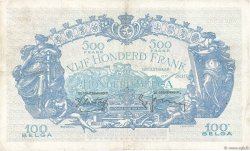500 Francs - 100 Belgas BELGIQUE  1938 P.109 TTB