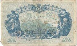 500 Francs - 100 Belgas BELGIQUE  1943 P.109