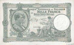 1000 Francs - 200 Belgas BELGIQUE  1943 P.110 TTB+