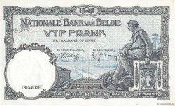 5 Francs BELGIQUE  1938 P.108a SUP