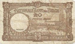 20 Francs BELGIQUE  1948 P.116 B