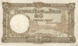 20 Francs BELGIQUE  1923 P.094 pr.TTB