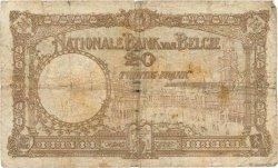 20 Francs BELGIQUE  1931 P.098b AB
