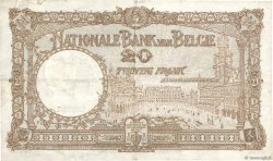 20 Francs BELGIQUE  1931 P.098b TTB