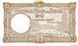 20 Francs BELGIQUE  1940 P.098c SUP+