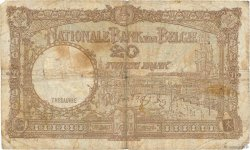 20 Francs BELGIQUE  1940 P.111