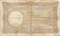 20 Francs BELGIQUE  1940 P.111 B