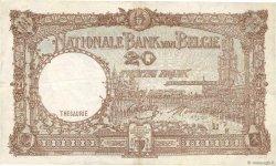 20 Francs BELGIQUE  1940 P.111 TTB